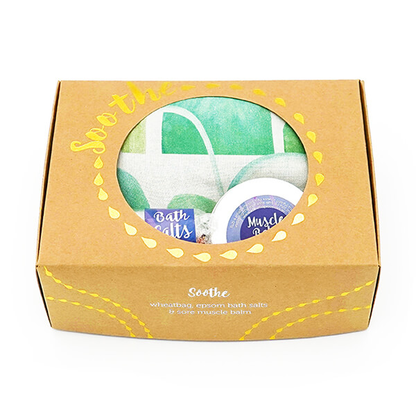 arches green soothe gift pack