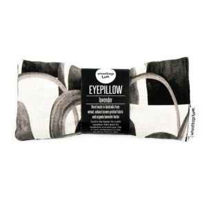 arches black eyepillow