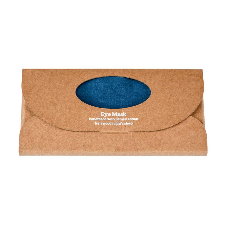 Ocean Luxe Linen EyeMask in box