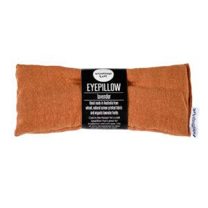 Copper Luxe Linen Eye Pillow