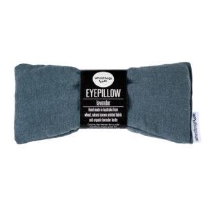 Slate Luxe Linen Eye Pillow