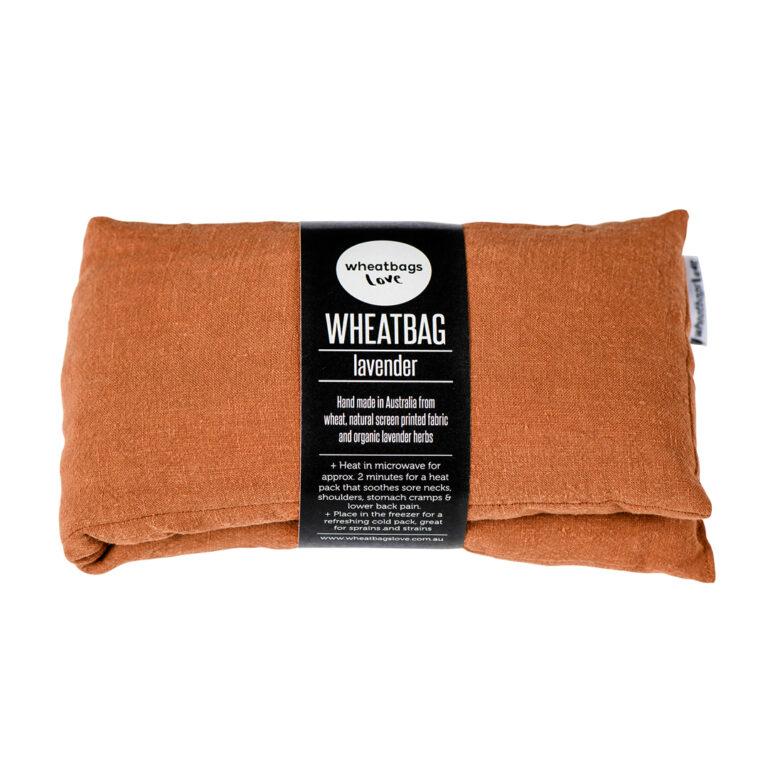 Copper Luxe Linen Wheatbag